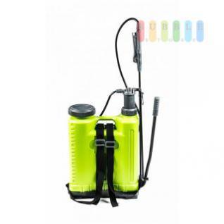 Drucksprüher von Kinzo mit Hebelpumpe und Rucksacktragesystem, viel Zubehör, Volumen ca. 18 Liter