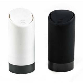 Mini-Auto-Mülleimer von ALL Ride für den Becherhalter, Deckel beweglich, öffnet leicht, Höhe ca. 15 cm, lieferbar in den Farben Weiß oder Schwarz
