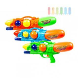 Wasserpistole L 2000 von Waterzone, integrierter Griff, Druck-Handpumpe, lieferbar in den Farben Orange, Grün oder Blau
