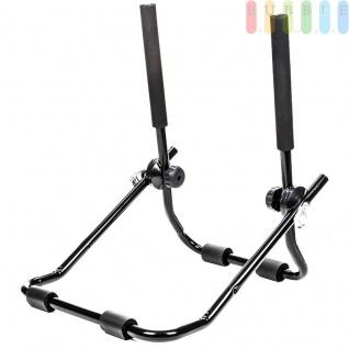 Heckklappen-Fahrradträger für alle Fahrzeugtypen, flexibel, platzsparend, TÜV-frei, Nutzlast max. 30 kg für 2 Fahrräder - Vorschau 3