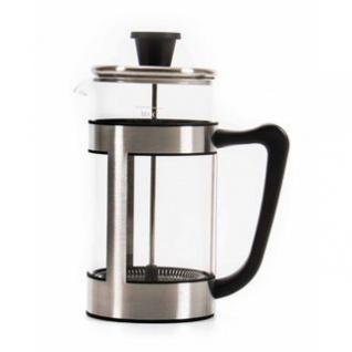 Kaffee-/Teebereiter / Pressfilterkanne von alpina aus Glas und Edelstahl, Volumen ca. 1 Liter