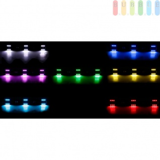 LED-Innenleuchte von ALL Ride für PKW und LKW, flache Bauweise, 6x3 SMD-LEDs, 7Farben, geschaltet, Länge50cm, 12-24V