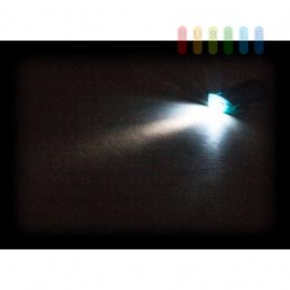 USB-Powerbank /mobiler Akku von Grundig mit Ladekabel, Taschenlampe, beleuchtet, 4000 mAh, blau