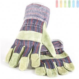 Arbeitshandschuhe ALL Ride Leder/Textil, Größe10