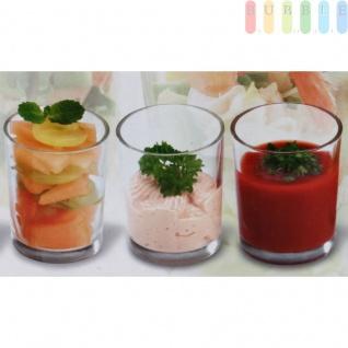 Aperitif-Gläser-Set von Alpina, 6-teilig, puristisches Design, klares Glas, ca. 100 ml Volumen, Größeca.5x6, 5cm - Vorschau 3