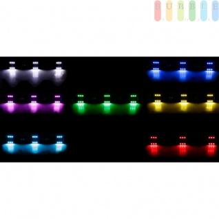 LKW LED Innenleuchte von ALL Ride, flache Bauweise, 6x3 SMD-LEDs, 7Farben, geschaltet, Länge50cm, 12-24V - Vorschau 1