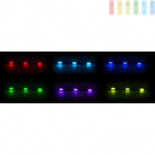 LKW LED Innenleuchte ALL Ride, flache Bauweise 3 x 3 SMD-LED, 7 Farben, geschaltet, Länge 50cm, 10-30V