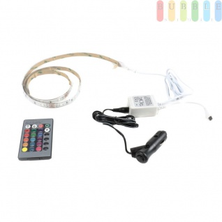 LED-Deko-Band ALL Ride außen mit Infrarot-Fernbedienung, mehrfarbig, multifunktional, 12/24V, 60LEDs, 200cm - Vorschau 2
