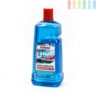 Frostschutz Sonax für die Scheibenwaschanlage, Citrusduft, Anti-Frost, klareScheiben, lack-undkunststoffverträglich, gebrauchsfertig, -20°C / 2Liter , Grundpreis: 4.20 € pro 1 l