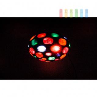 Disco-Leuchte von Grundig mit Aufhängung und Standfüßen, Ein-/Aus-Schalter, Birne austauschbar, schwarz - Vorschau 2