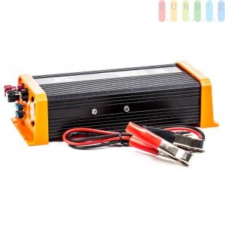 Spannungswandler / Inverter ALL Ride Zigarettenanzünder- und Batterie-Anschluss, Schuko-Steckdose, USB-Buchse, 24V/DCauf230V/AC, 500W - Vorschau 3