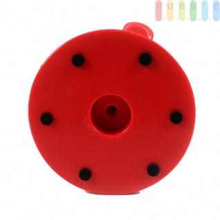 Dreifach-Süßigkeiten- und Snackspender von Alpina, 3 Fächer, Sockel um 360° drehbar, ca. 31 cm, rot/farblos - Vorschau 5