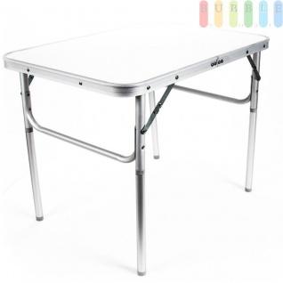 Camping-/Klapptisch aus Aluminium, leicht, robuste Tischplatte, 3, 5 cm Packhöhe, 2, 7 kg - Vorschau 2