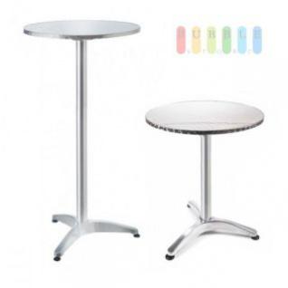 Steh  Oder Bistro Tisch Von Lifetime Garden, Tischplatte Klappbar, Höhe  Wählbar,