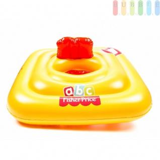 Baby Schwimm-Sitz von FischerPrice, aufblasbar, 4 Kammern, Sicherheitsventile, belastbarbismax.11kg, in eckig