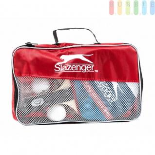 Tischtennis Set in Tasche von Slazenger, 4Tischtennisschläger, 4Bälle, 1Netzgarnitur, mobil, 10-teilig - Vorschau 2