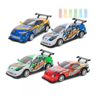 Spielzeugauto von EDDY TOYs mit Sound, Licht und Friktionsantrieb, Länge ca. 24 cm, Batterien inklusive, lieferbar sind 4 Modelle