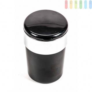 Aschenbecher für Getränkehalter, beleuchtet mit Glutlöscher, Batterie austauschbar, Farbe Schwarz - Vorschau 3