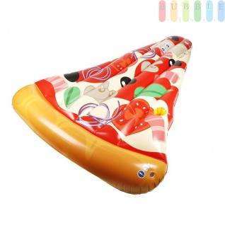"""Luftmatratze """" Pizza Party-Lounge"""" von Bestway, Design Pizza-Stück, 2 Luft-Kammern, Länge188 cm"""