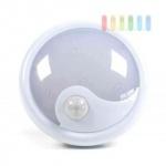 LED-Nachtlicht/-Notbeleuchtung von Grundig, 6 LED, Infrarotsensor, bis zu 50.000 Std. Brenndauer, Batteriebetrieb, weiß