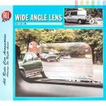 Weitwinkel-Linse von ALL Ride für Fahrzeuge, Kunststoff selbstklebend, wiederverwendbar, Größeca.25x20cm
