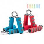 Fingerhanteln mit Soft-Grip als Paar, 12 cm, lieferbar in den Farben Blau oder Rot