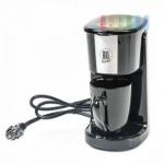 Kaffeemaschine von ALL Ride für 1 Tasse, Keramik-Becher, Dauerfilter, Keramikbecher, 12V/125W