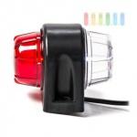 LED-Seitenbegrenzungsleuchte ALL Ride, anschraubbar, rot/weiß, 2 LEDs, 24V
