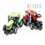 Traktor von Gearbox mit Lenk-Funktion und Schiebedach, Länge ca. 33 cm, lieferbar in den Farben Grün oder Rot
