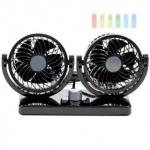 Auto Ventilator Doppellüfter ALL Ride, vertikal und horizontal einstellbar, Leistung 8W/15W, 12V