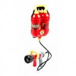 Wasserpistole Feuerwehr-Design von EddyToys, Spritzenhalter-Pump-Mechanismus, Rucksack-Tank, 2-teilig, Volumen 1, 5 Liter