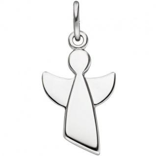 Anhänger Engel Schutzengel 925 Sterling Silber Silber Anhänger