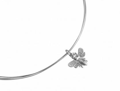 Halskette Anhänger 925 Silber BEE Biene 45 cm