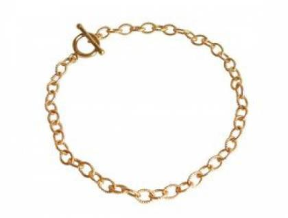 Gemshine Damen Unisex Armband Vergoldet 19 cm