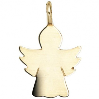 Kinder Anhänger Engel Schutzengel Engel 585 Gold Gelbgold