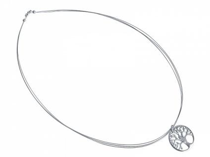 Halskette Anhänger LEBENSBAUM 925 Silber 2 cm