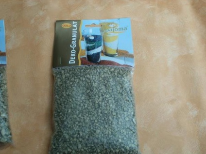 500 Gramm Dekogranulat grob Gold