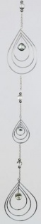formano Deko Girlande Kreisel AURA Metall, 95 cm