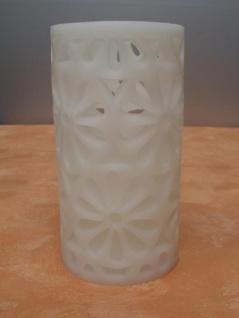 LED Deko-Kerze Blume, 15 cm hoch