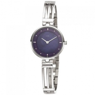 JOBO Damen Armbanduhr Quarz Analog aus Edelstahl 19, 5 cm Damenuhr