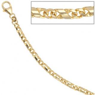 Armband 333 Gold Gelbgold massiv 19 cm Karabiner