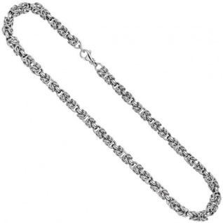 Halskette Kette 925 Sterling Silber 50 cm - 7, 2 mm Karabiner