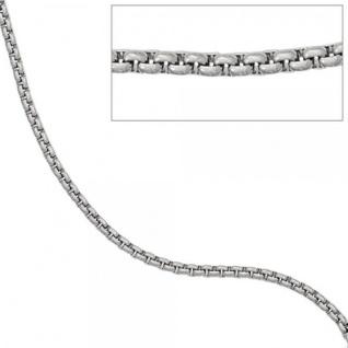 Venezianerkette rund Edelstahl 50 cm Halskette