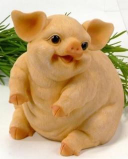 formano Spardose Sparschwein naturfarben, aufrecht sitzend, 16 cm