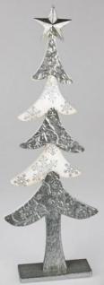 formano Dekofigur Tanne aus Metall und Holz, 64 cm