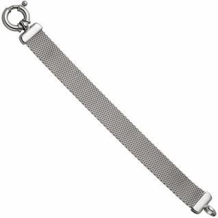 Milanaisearmband 925 Sterling Silber 20 cm Armband Milanaise