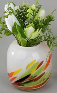 Deko Vase Multicolori aus Glas, 17 cm