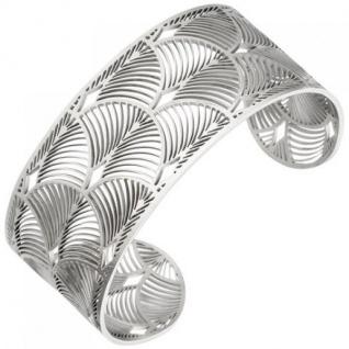 Armspange / offener Armreif aus Edelstahl 26, 9 mm breit Armband