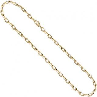 Halskette Kette 585 Gelbgold 45 cm Karabiner
