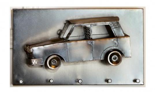 GILDE Schlüsselleiste Auto, vernickelt, 35, 5 x 20 cm